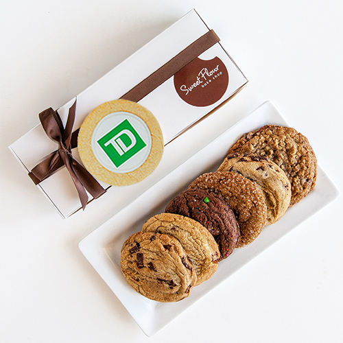 Signature Cookie Gift Box of 6 with TD Logo