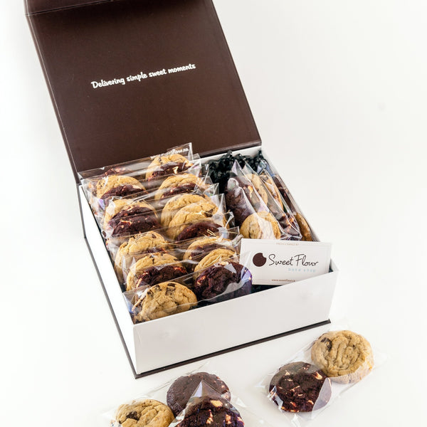 Gift Box of Gourmet Cookie Packs