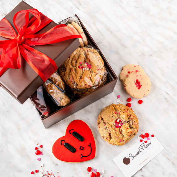 Cookie Gift Box - Valentine's Day Sampler