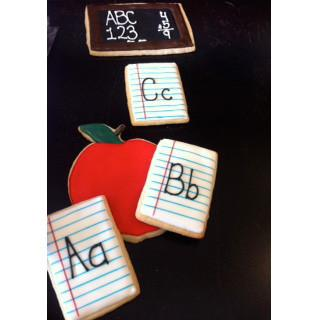 Custom Decorated Cookies for Teachers