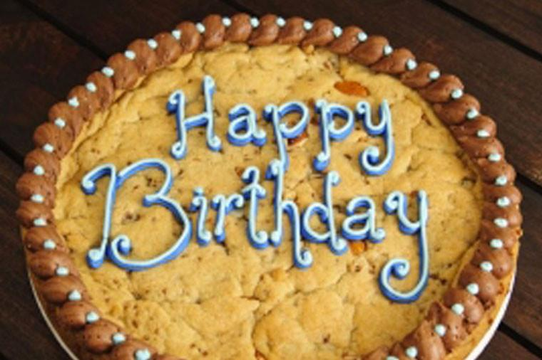 celebrate with a cookie cake!