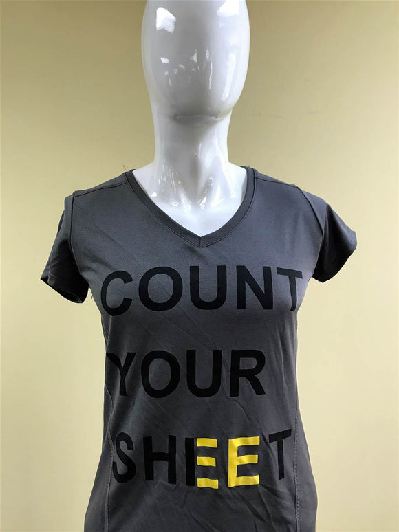 Ladies Count Your Sheet Shirt