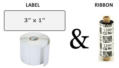 F&B Label & Ribbon Package (Per Roll)