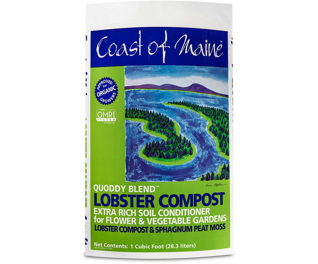 Quoddy Blend Lobster Compost 1 cft