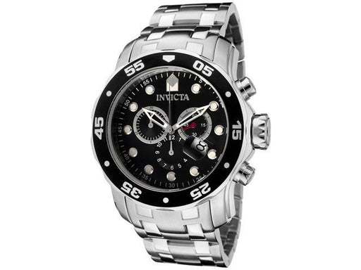 Invicta Men's 0069 Pro Diver Scuba Chronograph Stainless Steel Watch