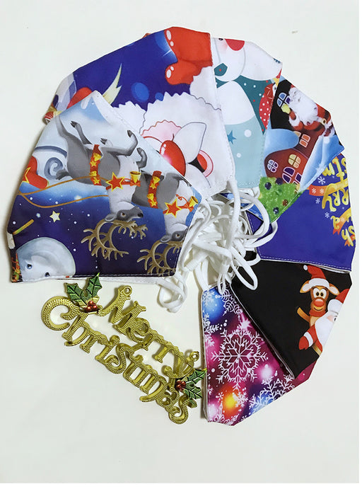 Holiday Masks Reusable