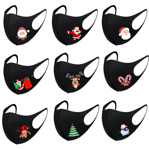 Christmas Face Mask Reusable
