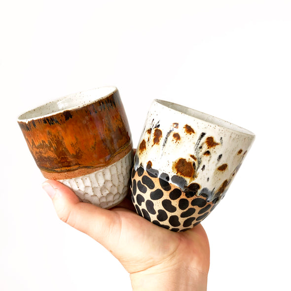 PAIRS OF 'MIX n MATCH' CUPS - LARGE