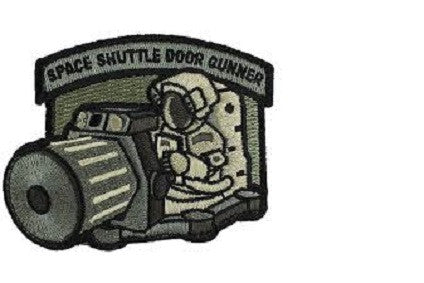 Patch: Space Shuttle Door Gunner