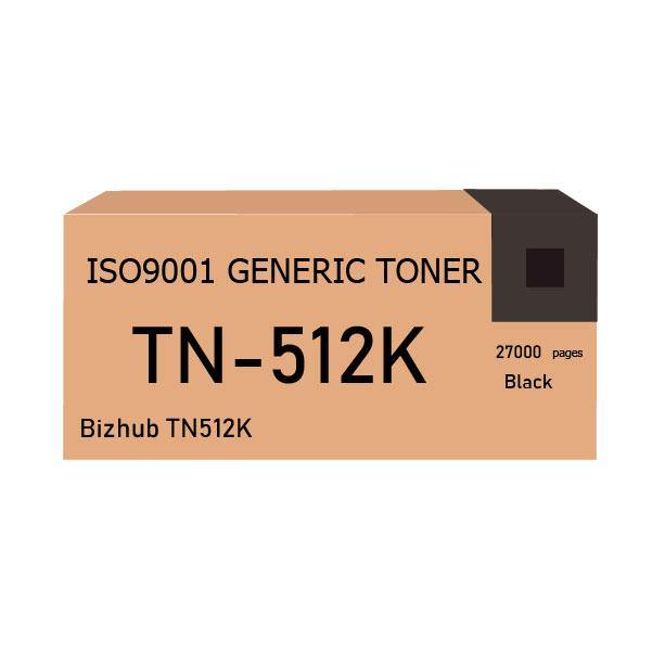 Bizhub TN512K toner black - Compatible - tonerandink.co.za