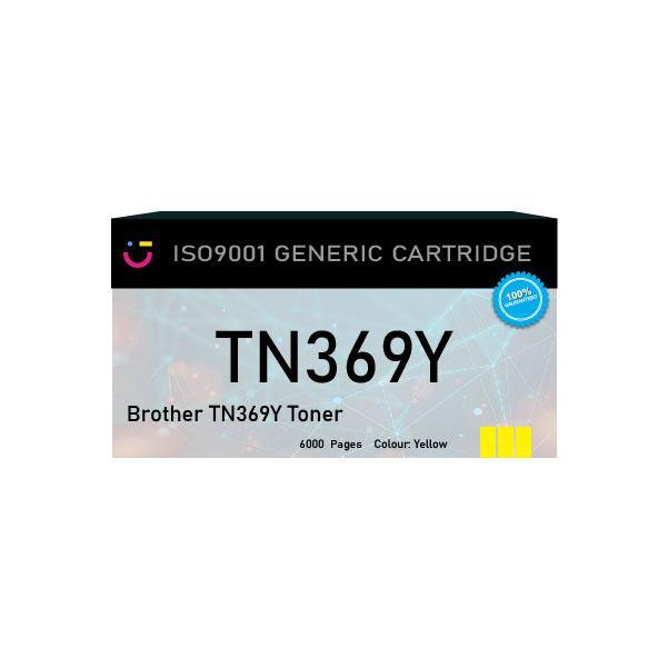 Brother TN369Y Yellow toner cartridge - Compatible - tonerandink.co.za