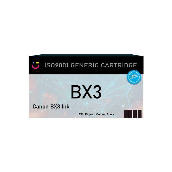 Canon BX3 Black ink cartridge - Compatible - tonerandink.co.za