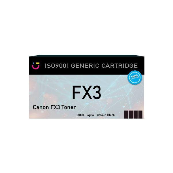 Canon FX3 Black toner cartridge - Compatible - tonerandink.co.za