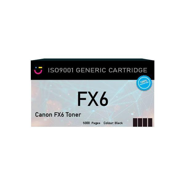 Canon FX6 Black toner cartridge - Compatible - tonerandink.co.za