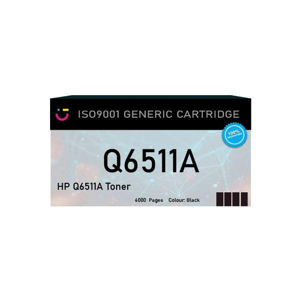 HP 11A (HP-Q6511A) Black toner cartridge - Compatible - tonerandink.co.za
