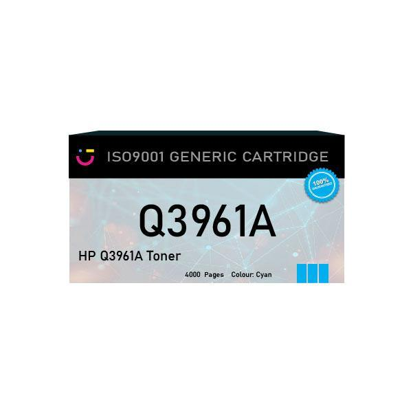 HP 122A (HP-Q3961A) Cyan toner cartridge - Compatible - tonerandink.co.za