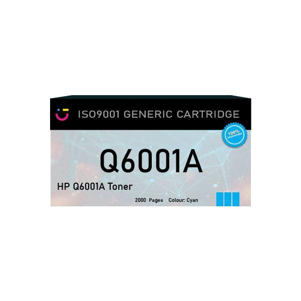 HP 124A (HP-Q6001A) Cyan toner cartridge - Compatible - tonerandink.co.za