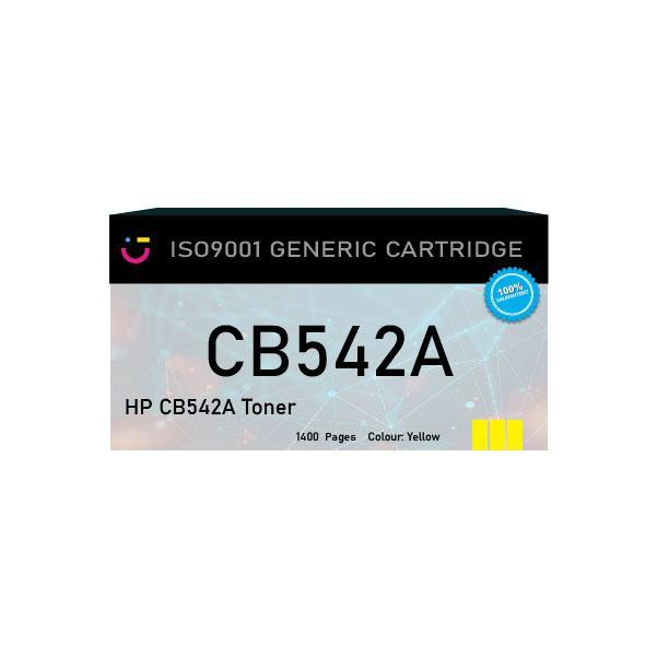 HP 125A (HP-CB542A) Yellow toner cartridge - Compatible - tonerandink.co.za