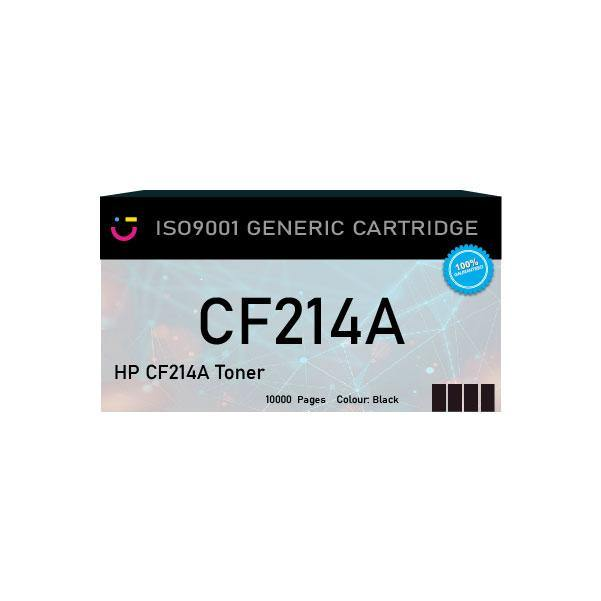 HP 14A Black toner cartridge (HP-CF214A) - Compatible - tonerandink.co.za