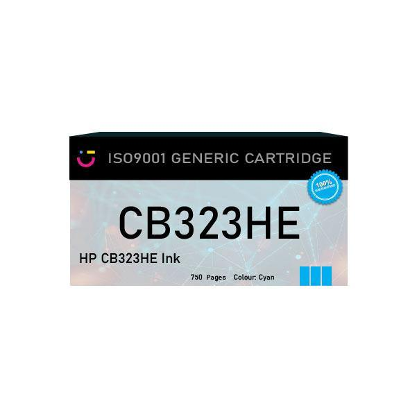 HP 178XL (HP-B323HE) Cyan ink cartridge - Compatible - tonerandink.co.za