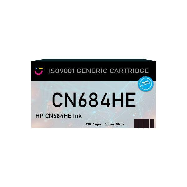 HP 178XL (HP-N684HE) Black ink cartridge - Compatible - tonerandink.co.za