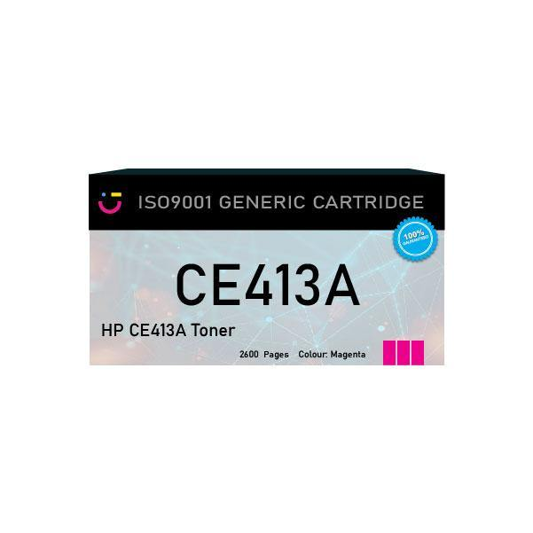 HP 305A (HP-CE413A) Magenta toner cartridge - Compatible - tonerandink.co.za