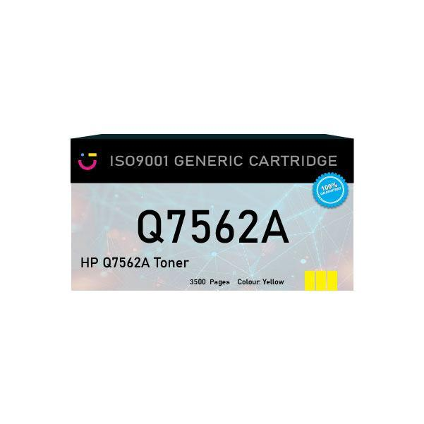 HP 314A (HP-Q7562A) Yellow toner cartridge - Compatible - tonerandink.co.za