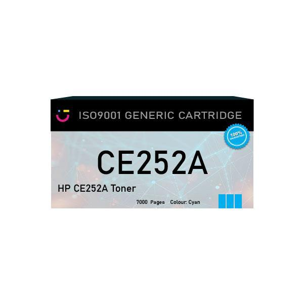 Compatible HP 504A (HP-CE252A) Yellow toner cartridge - tonerandink.co.za