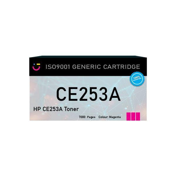 Compatible HP 504A (HP-CE253A) Magenta toner cartridge - tonerandink.co.za