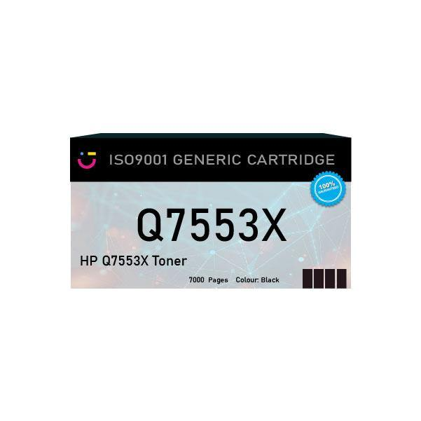 HP 53X (HP-Q7553X) Black toner cartridge - Compatible - tonerandink.co.za