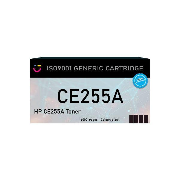 Compatible HP 55A (HP-CE255A) Black toner cartridge - tonerandink.co.za