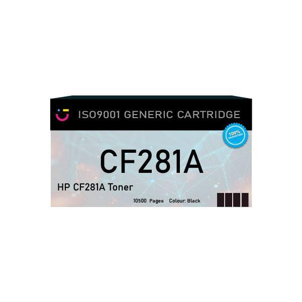 Compatible HP 81A Black toner cartridge (HP-CF281A) - tonerandink.co.za