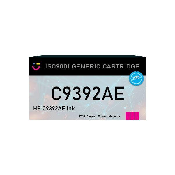 Compatible HP 88XL (HP-C9392AE) Magenta ink cartridge - tonerandink.co.za