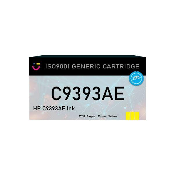 Compatible HP 88XL (HP-C9393AE) Yellow ink cartridge - tonerandink.co.za
