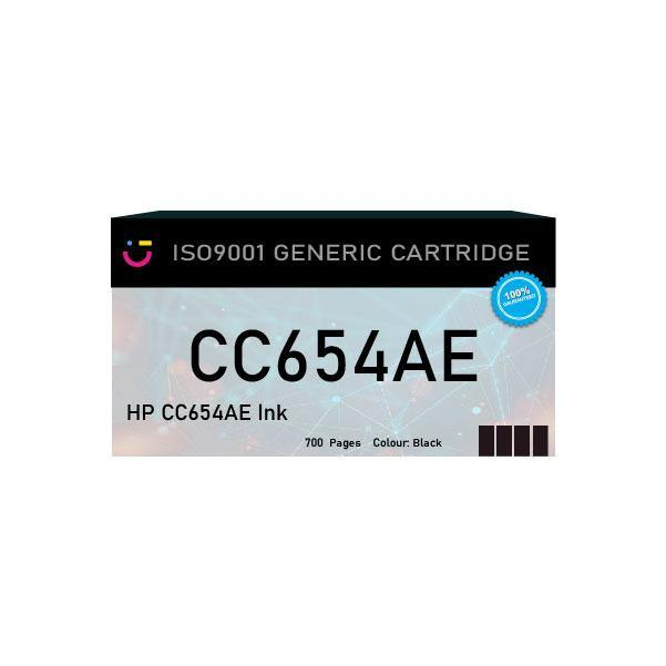 Compatible HP 901XL (HP-CC654AE) Black ink cartridge - tonerandink.co.za