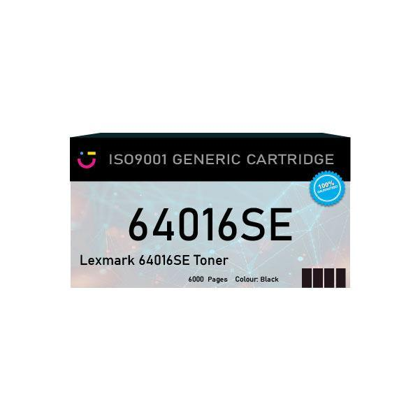 Compatible Lexmark 64016SE Black toner cartridge - tonerandink.co.za