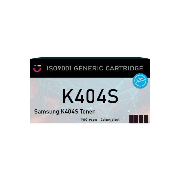 Compatible Samsung K404S Black toner cartridge - tonerandink.co.za