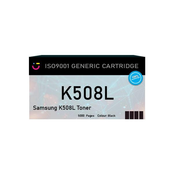Compatible Samsung K508L Black toner cartridge - tonerandink.co.za