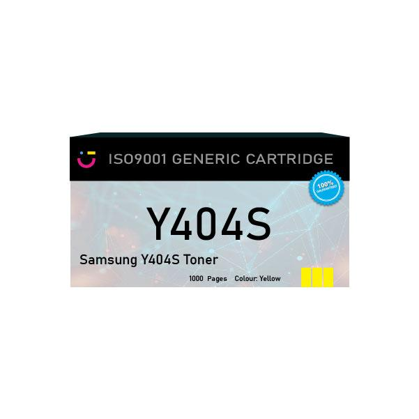 Compatible Samsung Y404S Yellow toner cartridge - tonerandink.co.za