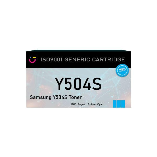 Compatible Samsung Y504S Yellow Toner - tonerandink.co.za