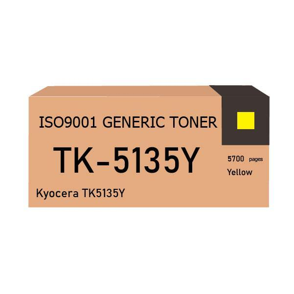 Kyocera TK5135Y toner yellow - Compatible - tonerandink.co.za
