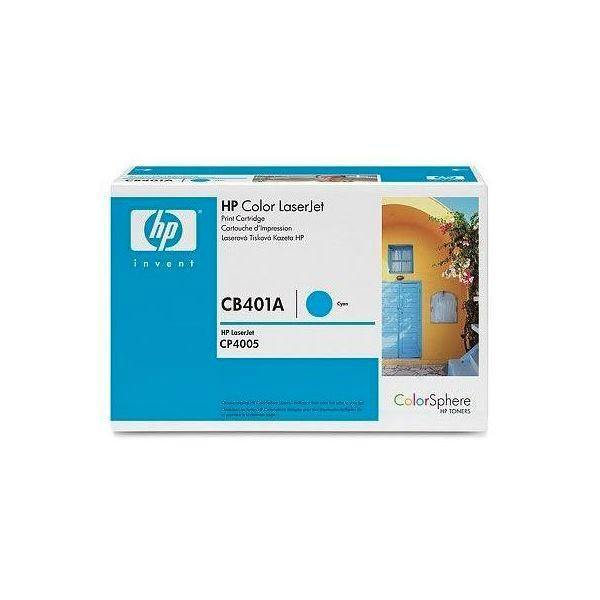 Original HP 642A (HP-CB401A) Cyan toner cartridge - tonerandink.co.za