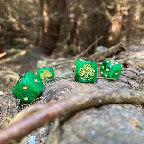 Lucky Shamrock Dice