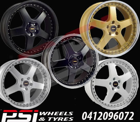 17X8.5 & 17X9.5 SIMMONS FR-1 WHEEL PACKAGE