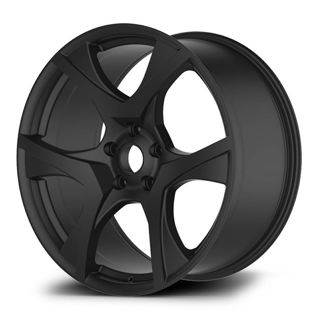 VF HSV Style Wheels 20x8.5 Gloss GUNMETAL - SATIN BLACK - GLOSS BLACK MF
