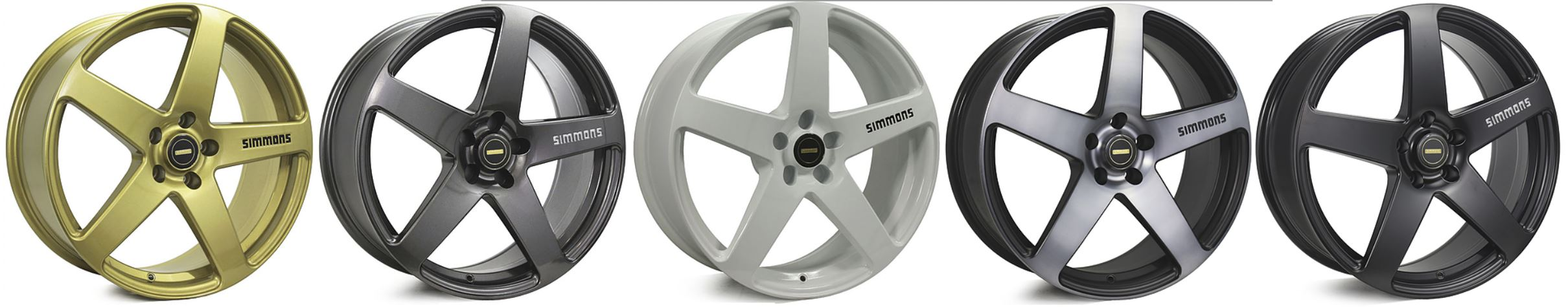 17X8.5 SIMMONS FR-1 WHEEL PACKAGE