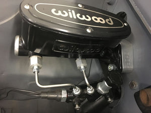 WILWOOD MASTER CYLINDER KIT TO REMOVE THE BOOSTER ON ALL EARLY COMMODORES VB - VS