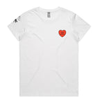 Load image into Gallery viewer, Womens ASRC x Beci Orpin Heart T-shirt