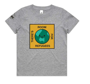 Kids ASRC x Beci Orpin T-shirt (Available in Grey and White)