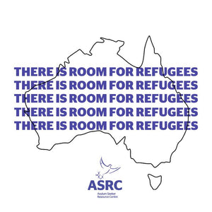 Room For Refugees Sticker